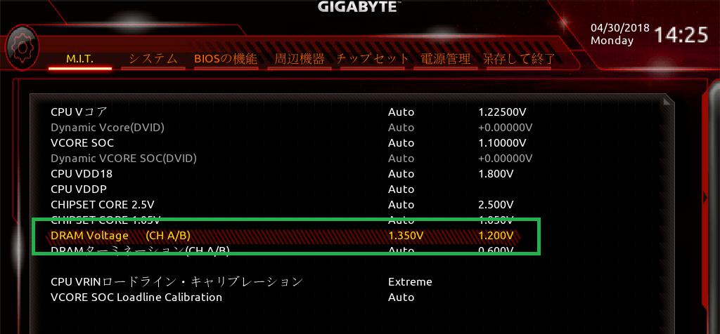 GIGABYTE X470 AORUS GAMING 7 WIFI_BIOS_OC_19