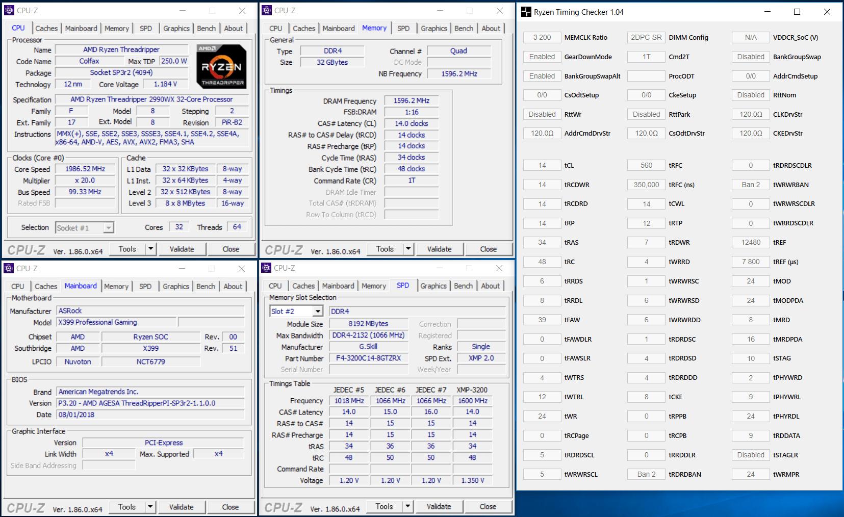 F4-3200C14Q-32GTZRX_2990WX_XMP