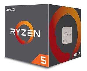 AMD CPU Ryzen5 1400 4コア8スレッド 3.4GHz (YD1600BBAEBOX)