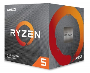 AMD Ryzen 5 3600 6コア12スレッド