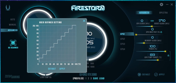 ZOTAC GAMING GeForce RTX 3080 Trinity_FireStorm_Fan