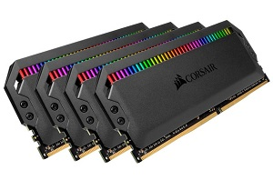 Corsair Dominator Platinum RGB DDR4メモリ