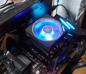 AMD AM4(X470)_Ryzen 7 2700X_TDP105W_Cooler