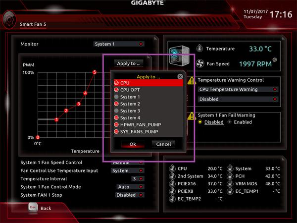 GIGABYTE Z370 AORUS Gaming 7_BIOS_Fan_7