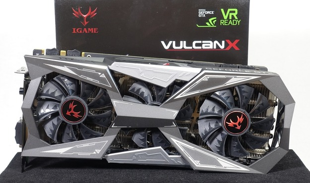 COLORFUL iGame GTX1080Ti Vulcan X OC