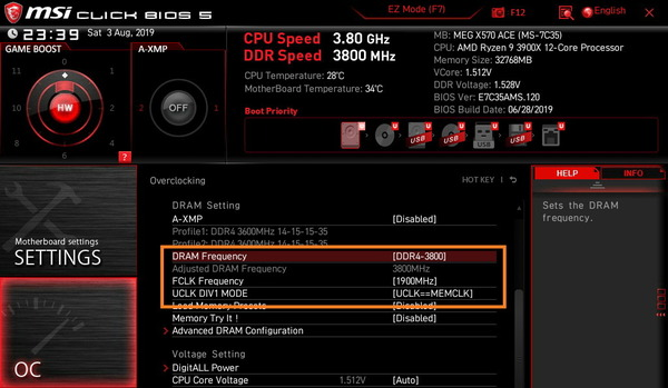 MSI MEG X570 ACE_BIOS_OC_18