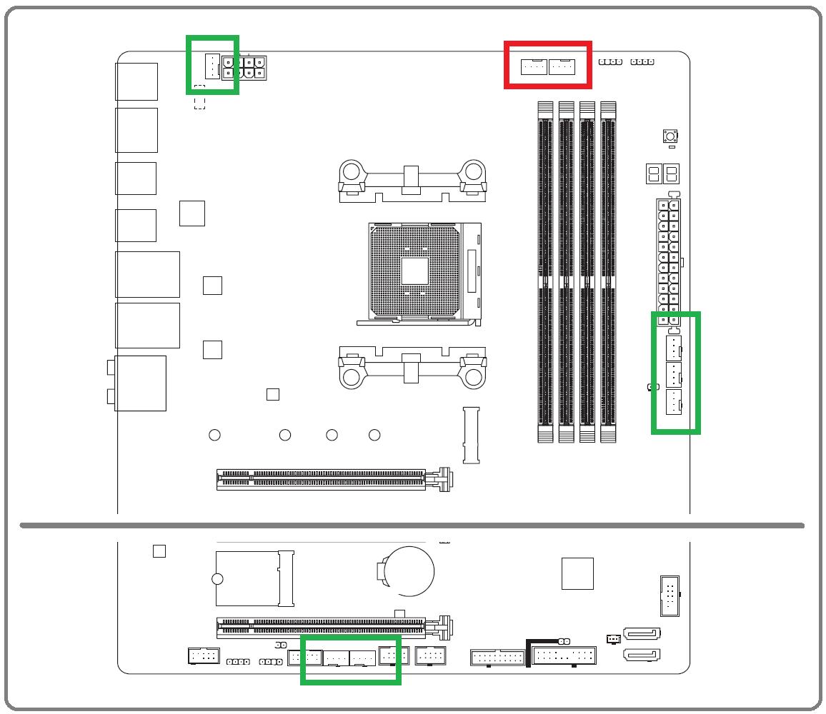 GIGABYTE B550 VISION D_Fan