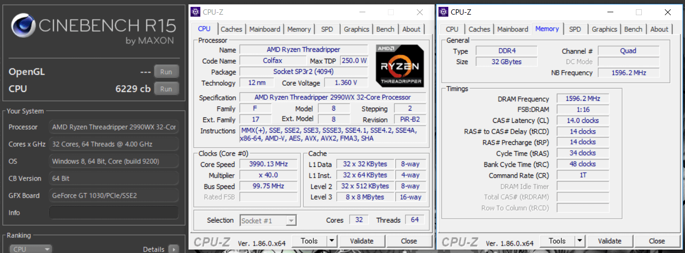 Ryzen Threadripper 2990WX_4GHz_Cine