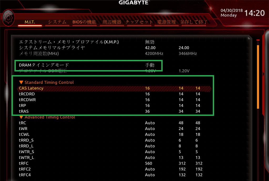 GIGABYTE X470 AORUS GAMING 7 WIFI_BIOS_OC_15