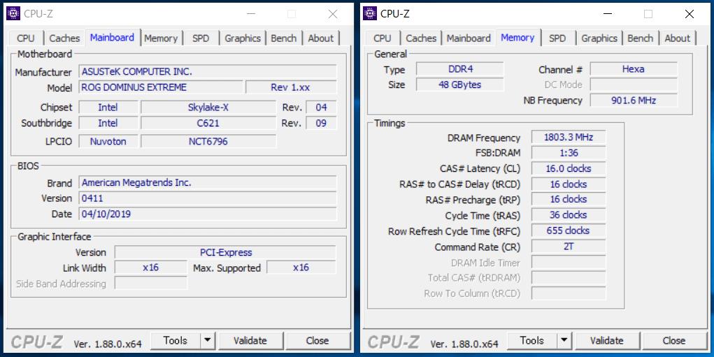 Intel LGA3647(C621)_CPU-Z