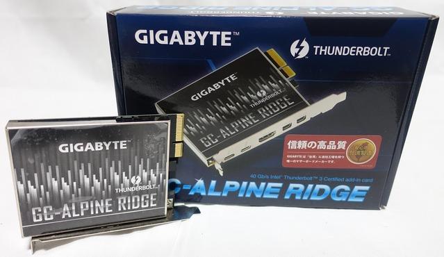 GIGABYTE GC-ALPINE RIDGE