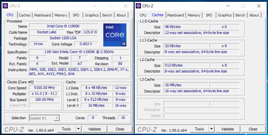 Intel Core i9 11900K_CPU-Z