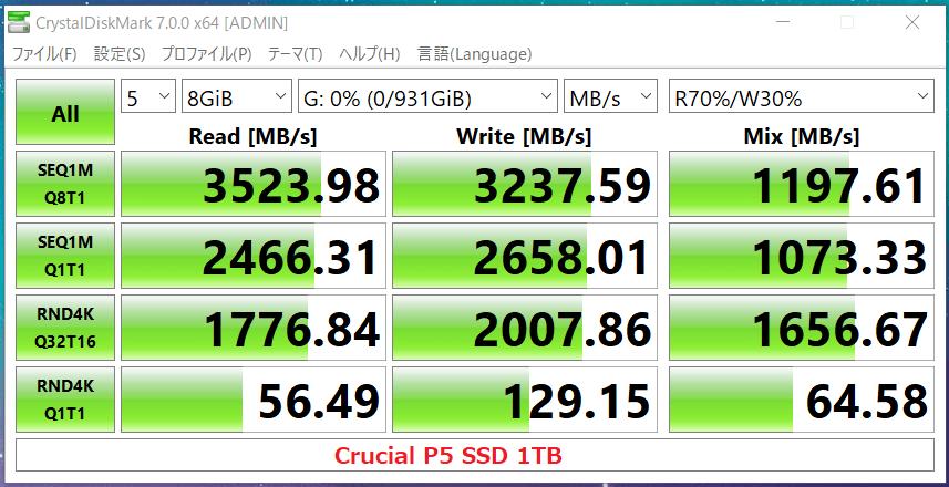 Crucial P5 SSD 1TB_CDM7