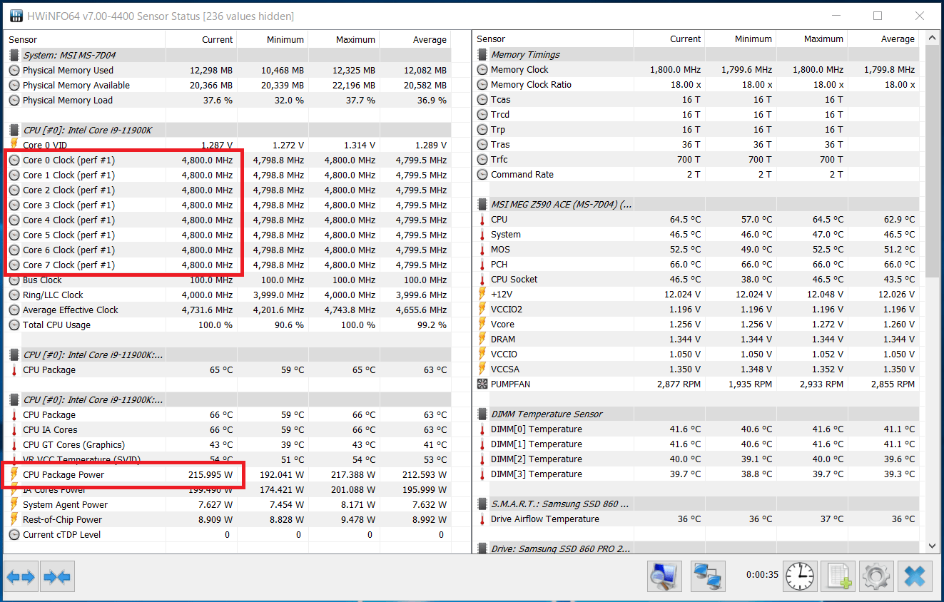 Intel Core i9 11900K_Boost-Clock_multi_PL2