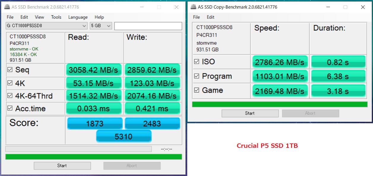 Crucial P5 SSD 1TB_AS