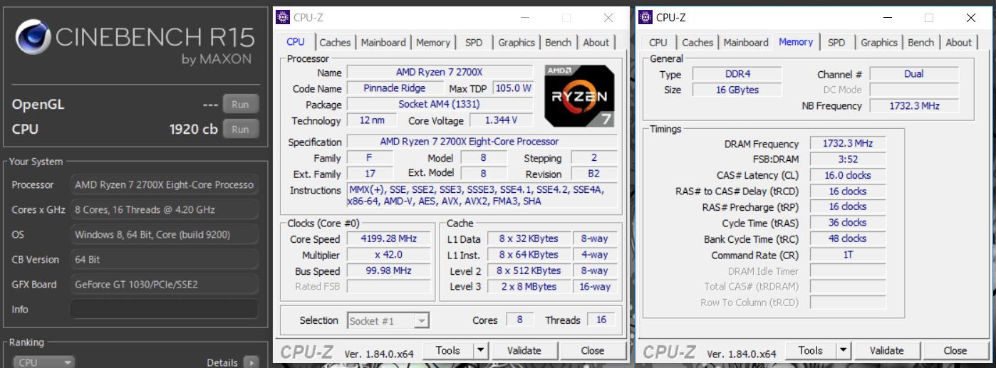 GIGABYTE X470 AORUS GAMING 7 WIFI_OC Test_Cine