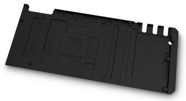EK-Quantum Vector Trio RTX 3080_3090 Backplate - Black (2)