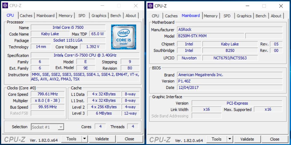 GALLERIA Mini 1060_CPU_Mem (1)