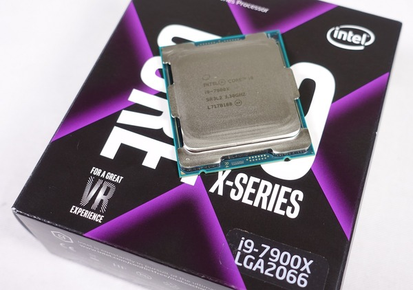 「Core i9 7900X」レビュー:7900Xは本当に爆熱のワッパ不良なのか?