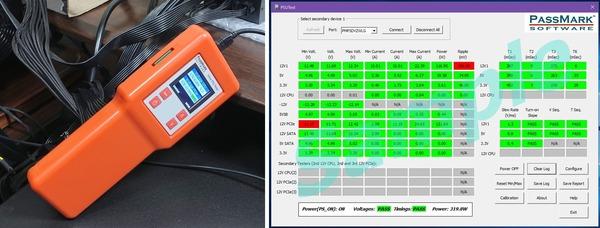 PassMark Inline PSU Tester