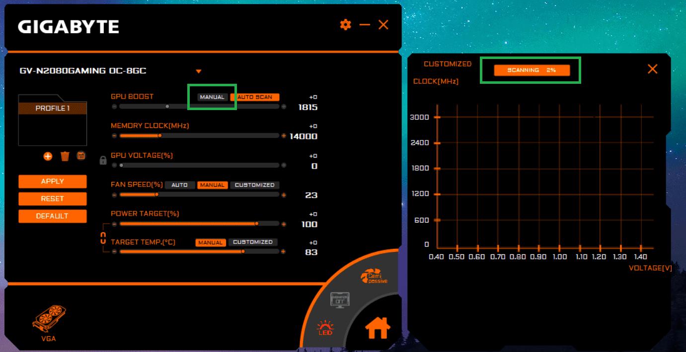 AORUS Engine_NVIDIA Scanner