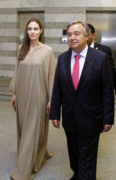 2012.9.11UNHCRアントニオ・グテーレス政府宮殿で共同記者会見