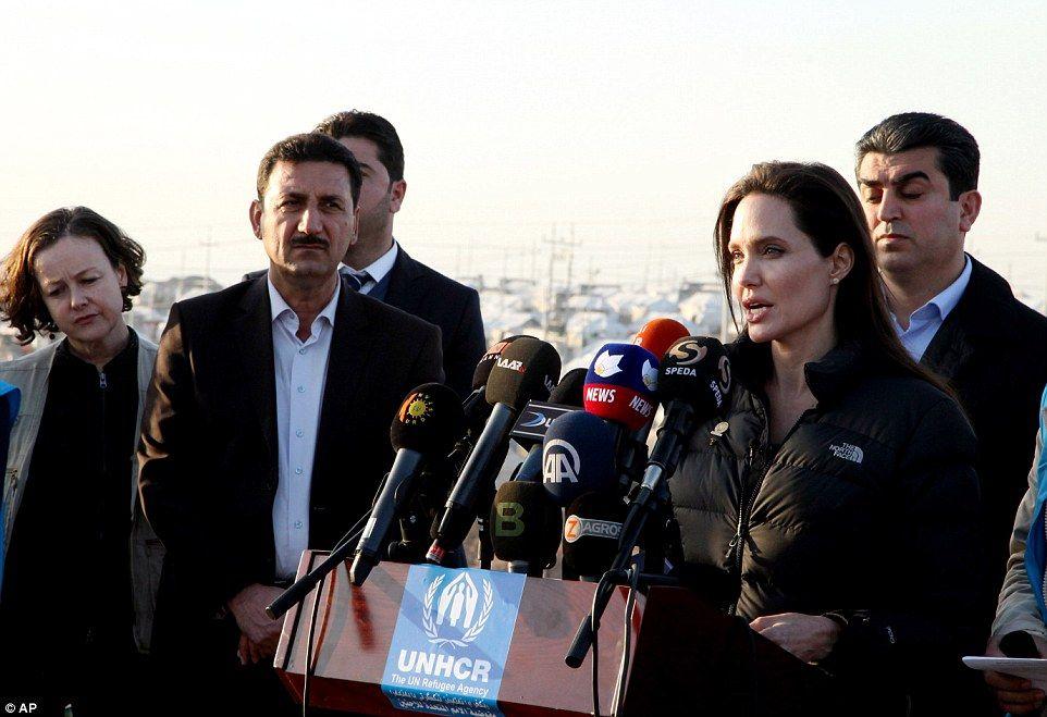 2015.1.25  イラク難民キャンプへ