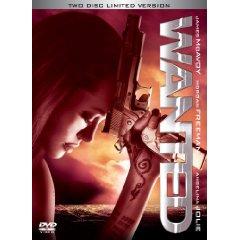 『ウォンテッド』DVD