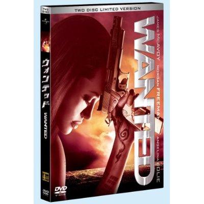 【祝】『ウォンテッド』DVD発売2/25(24日発売・レンタル開始)