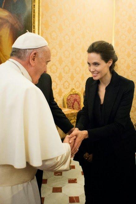 ローマ教皇に謁見