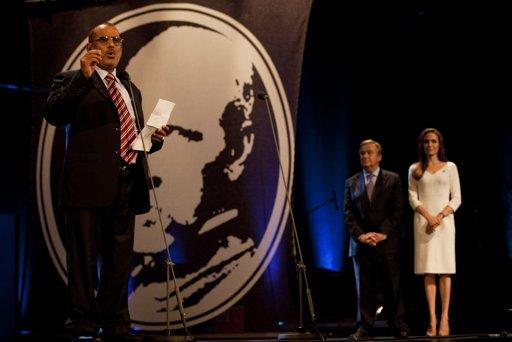 2011-10-03ジュネーブUNHCRのナンセン難民賞授賞式
