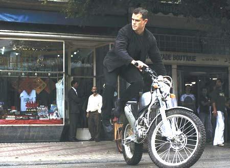 ボーンアルティメイタム マット バイク大きく載せる