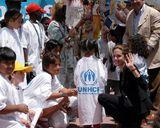国連親善大使 難民救済活動