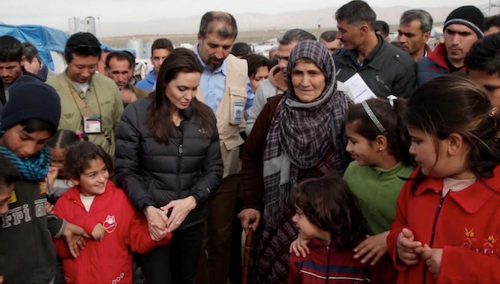 イラク難民キャンプ