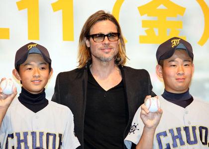 被災地の野球少年たちにエールを感謝です。