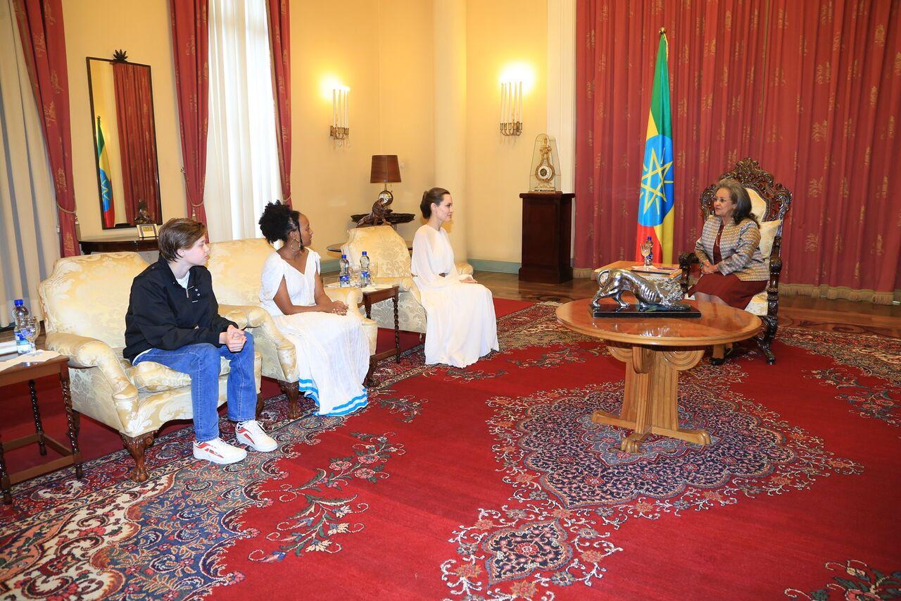 エチオピアの大統領に会う