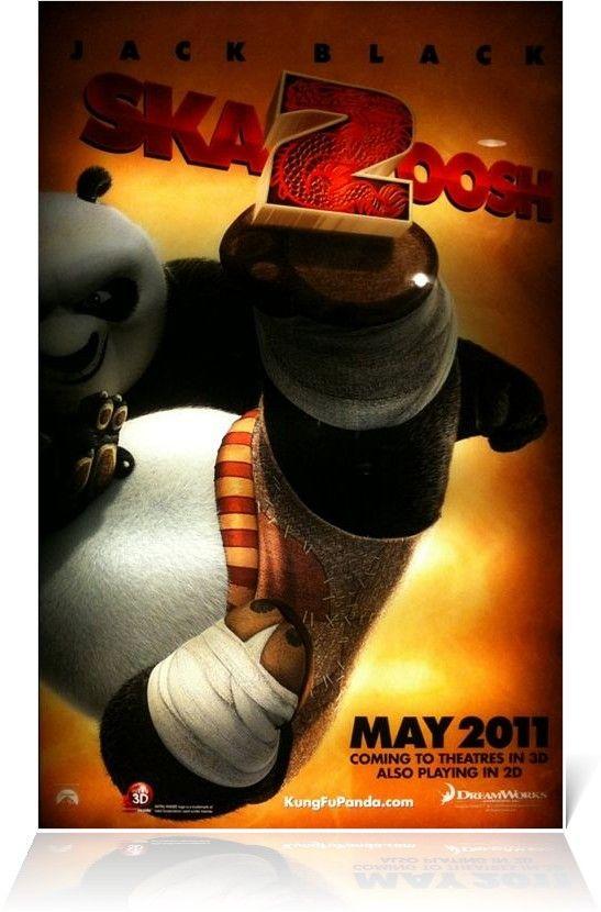 『カンフー・パンダ2』ポスター