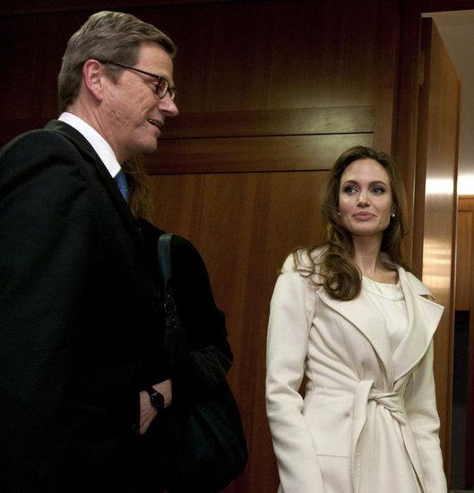 �2/10ベルリン:ドイツの外務大臣ギドヴェスターヴェレと会談