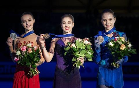 2020 欧州選手権 女子 表彰式