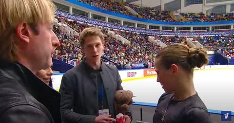 ロシアテストスケート トゥルソワFS