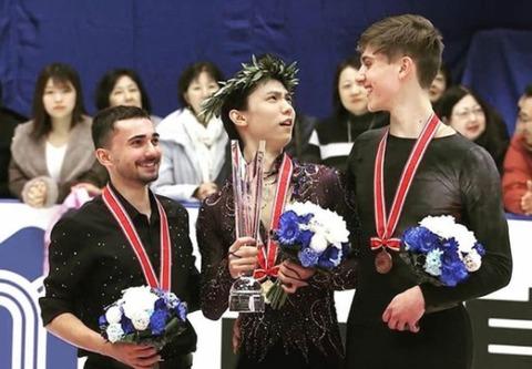 19 NHK杯 表彰式