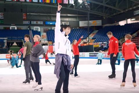 19 スケートカナダ EX 練習
