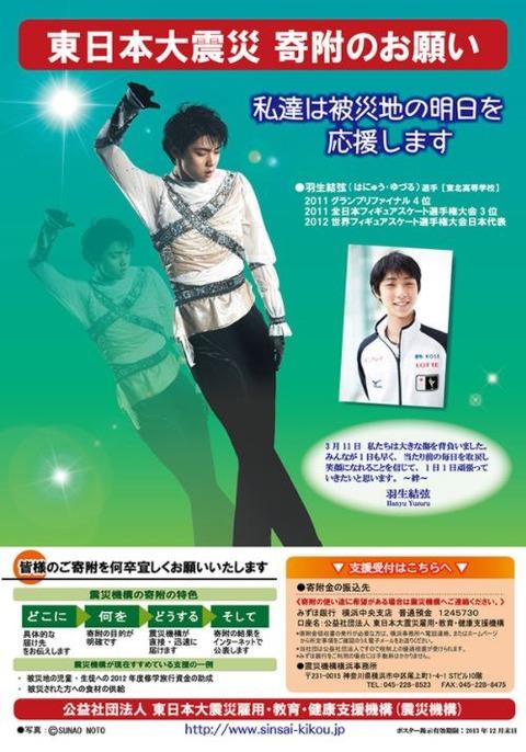 震災機構 ポスター2012