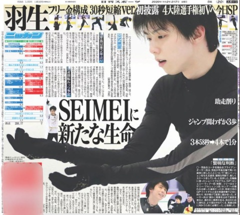 日刊スポーツ 20210207