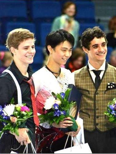 2012 フィンランディア杯 表彰式