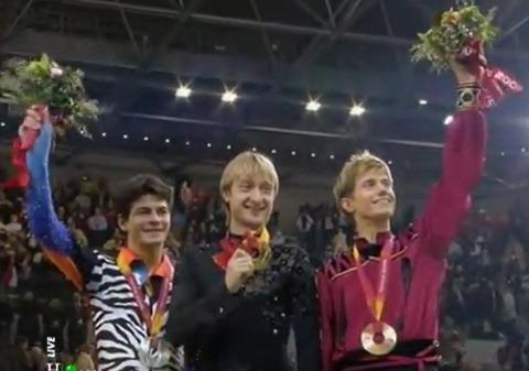 2006 Torino olimpic 表彰式 3
