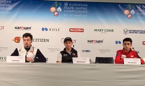 2020 欧州選手権 SP Conference