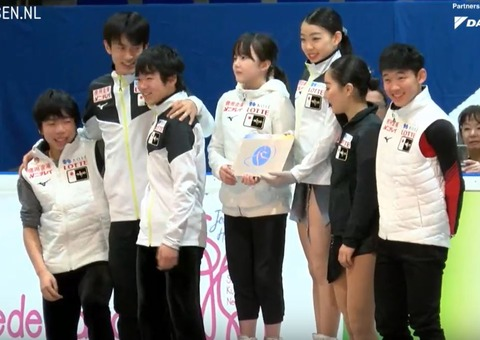 19 Challenge Cup 女子表彰式 3