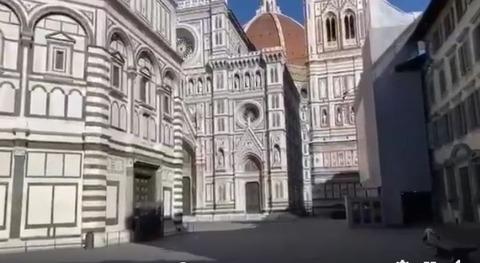 Firenze vuota