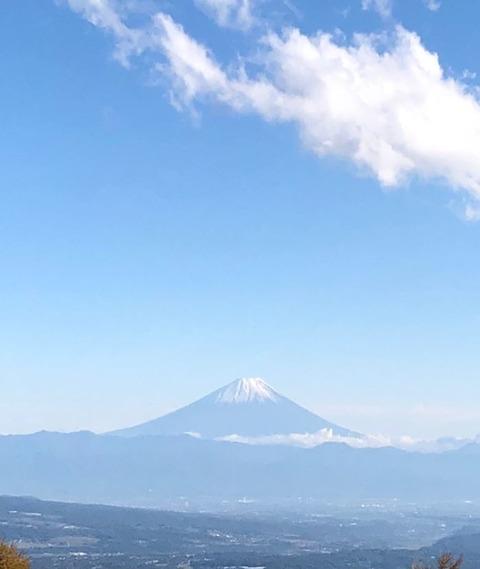 19 紅葉 富士山